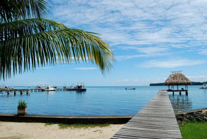 Livingston en la costa caribeña