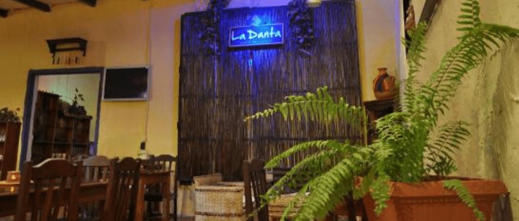 Restaurante La Danta.