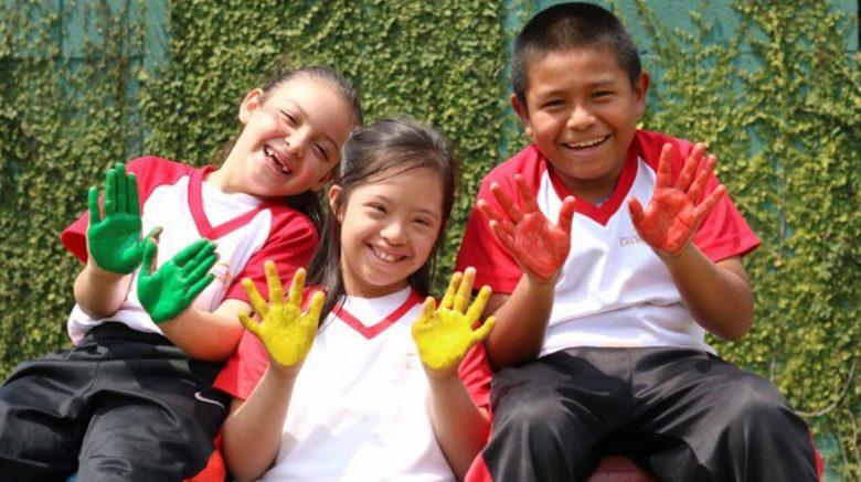 niños de la fundacion margarita tejada