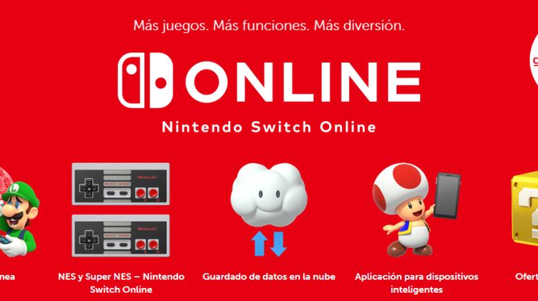 Conoce qué es Nintendo Switch Online y sus características