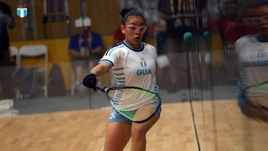 Raquetbolistas guatemaltecos