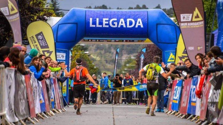 Atletas de Guatemala en la carrera Patagonia