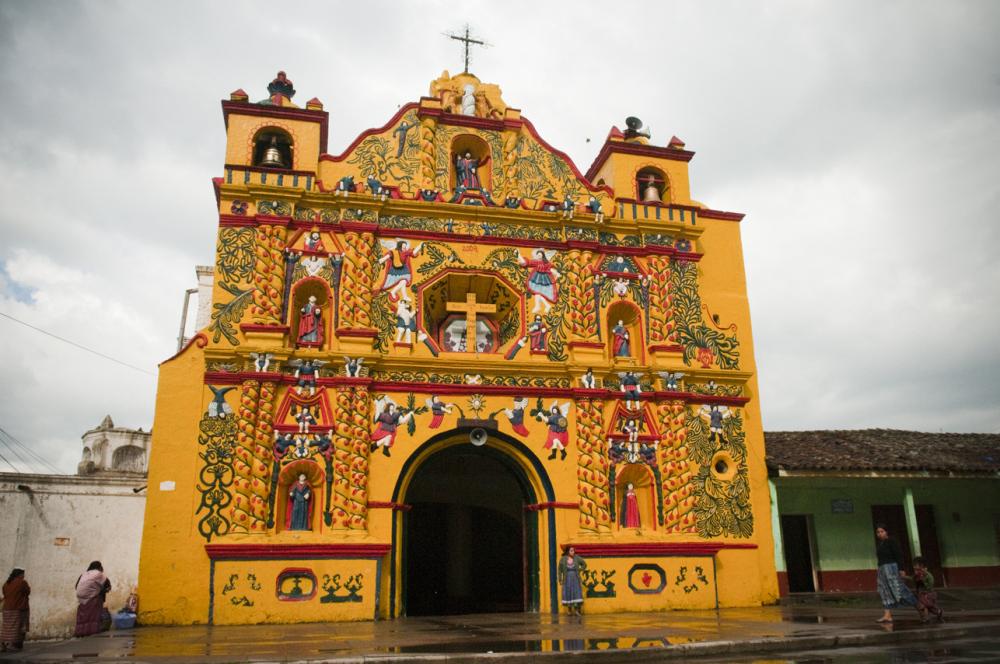iglesia en Xela Guatemala