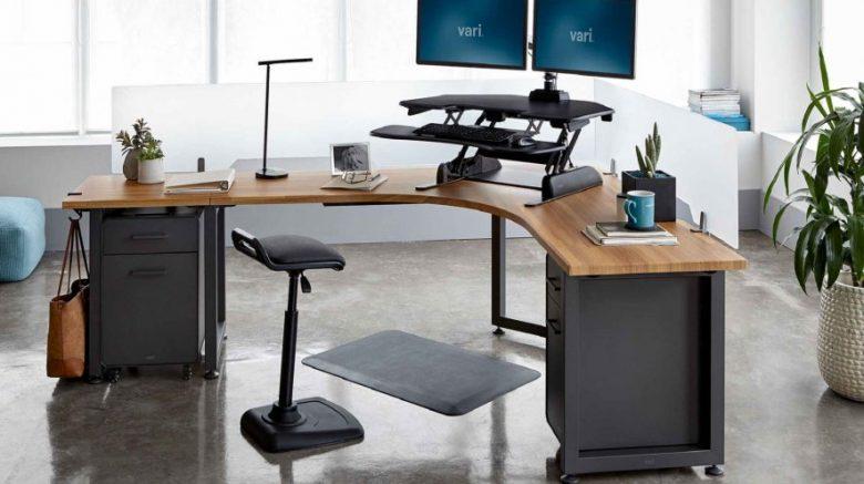 monitor en escritorio