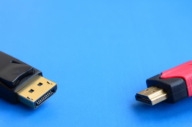 convertidor HDMI o DisplayPort