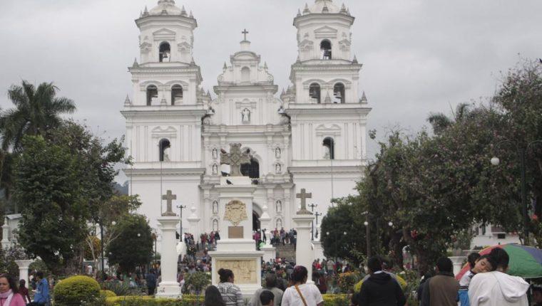 vista de la basílica en Esquipulas