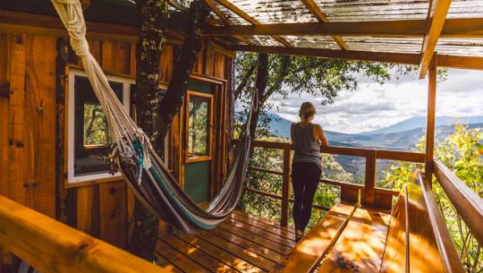 Earth Lodge, un hotel familiar y ecológico