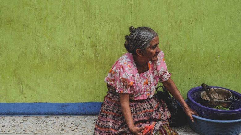 Mujer en Guatemala