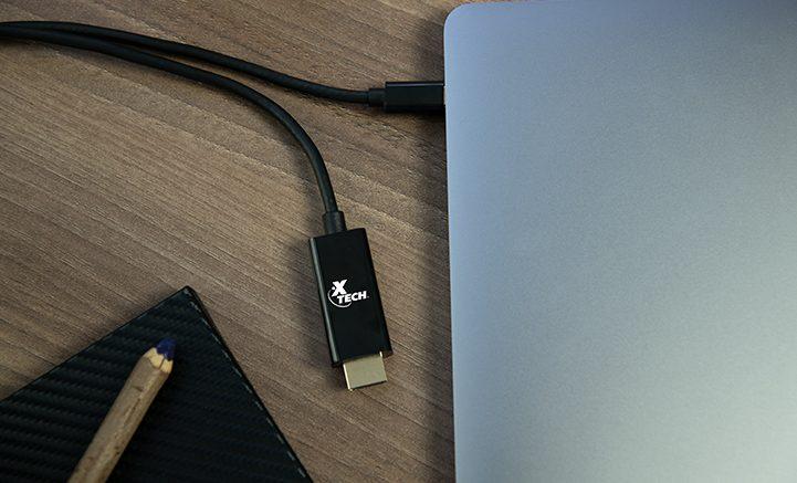hdmi tipo c en laptop