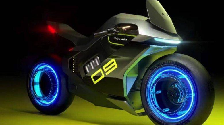 motocicleta Apex H2 estilo Tron de Segway